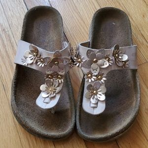Giulia Palai leather sock sandal